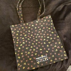 Madewell Insider flower print cloth shoulder bag